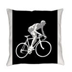 Bicycle Racing Abstract Silhouette Print Everyday