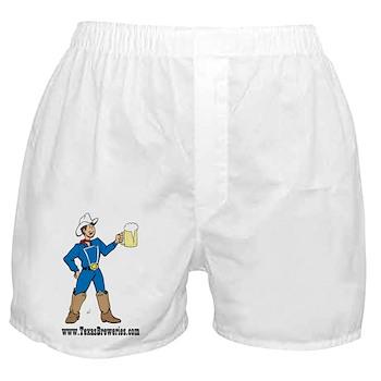 Texas Breweries Boxer Shorts