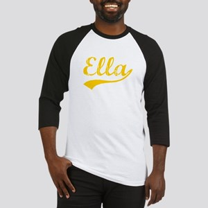 Vintage Ella (Orange) Baseball Jersey