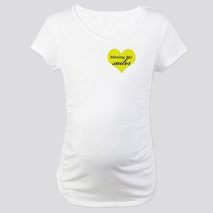 Deployed Boyfriend, Fiance, H Maternity T-Shirt