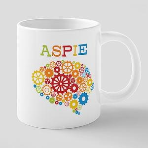 Aspie Brain Autism Mugs