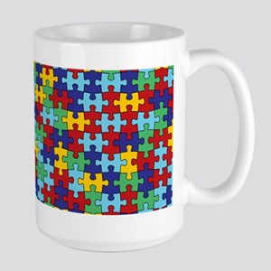 Autism Awareness Puzzle Stainless Steel Travel Mug