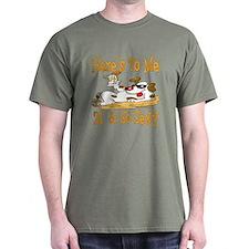 Cheers on 21st Dark T-Shirt