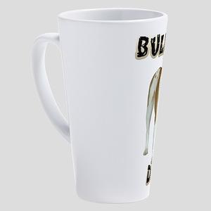 Bulldog Dad 17 oz Latte Mug