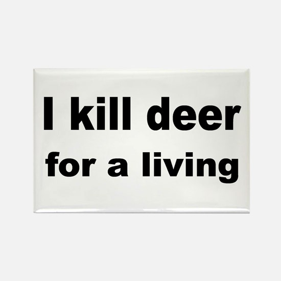 Gut deer Rectangle Magnet