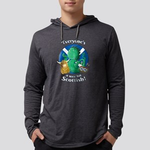 Scottish Highland Cow, Nessie Long Sleeve T-Shirt