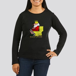 Little King - Women's Long Sleeve Dark T-Shirt