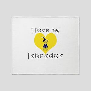 Lab Throw Blanket