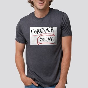 Forever Young Ash Grey T-Shirt