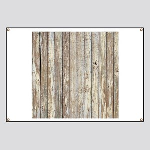 rustic country barn wood Banner