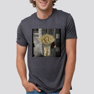 farm fence wheat bouquet T-Shirt