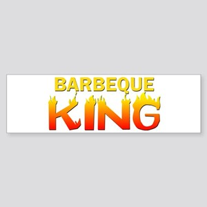 Barbeque King Bumper Sticker