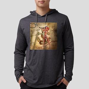 nautical beach gir Long Sleeve T-Shirt