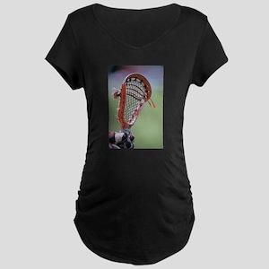 lacrosse Maternity T-Shirt