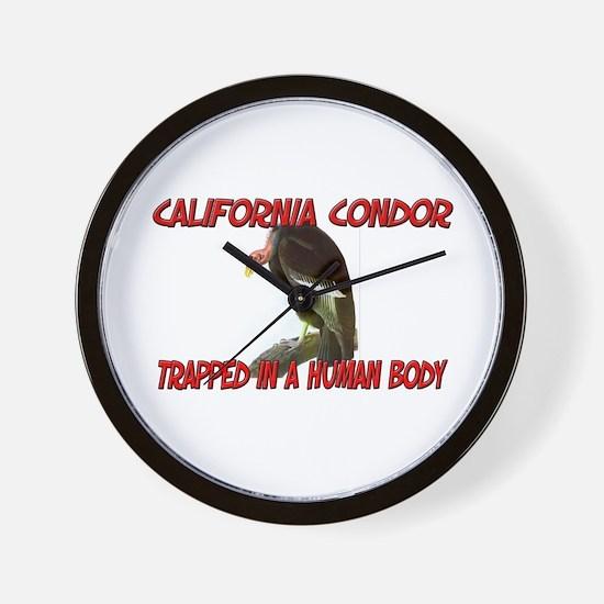 California Condor trapped in a human body Wall Clo