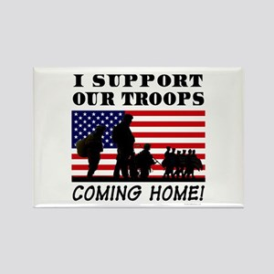 Troops Coming Home Rectangle Magnet