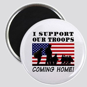 Troops Coming Home Magnet