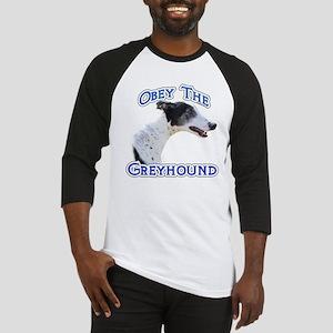 GreyhoundObey Baseball Jersey