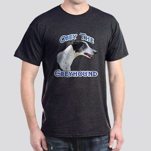 GreyhoundObey Dark T-Shirt