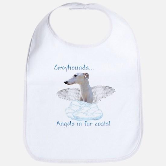 Greyhound Angel Bib