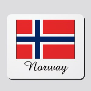 Norway Flag Mousepad