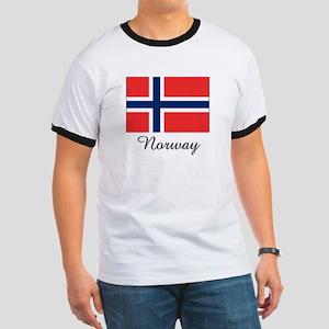Norway Flag Ringer T