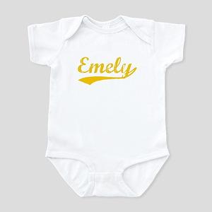 Vintage Emely (Orange) Infant Bodysuit