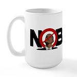 No Obama 2008 Large Mug