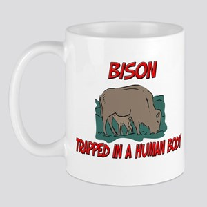 Bison trapped in a human body Mug