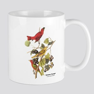 Audubon Summer Tanager Birds Mug