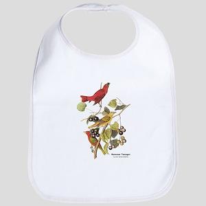 Audubon Summer Tanager Birds Bib