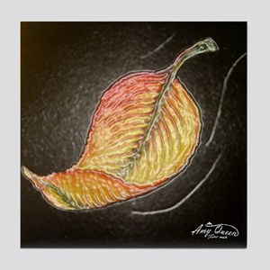 Falling leaf Tile Coaster