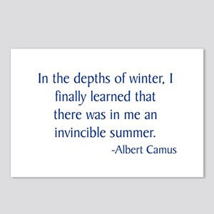 Camus 1 Postcards (Package of 8)