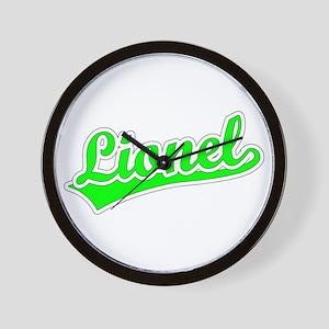Retro Lionel (Green) Wall Clock