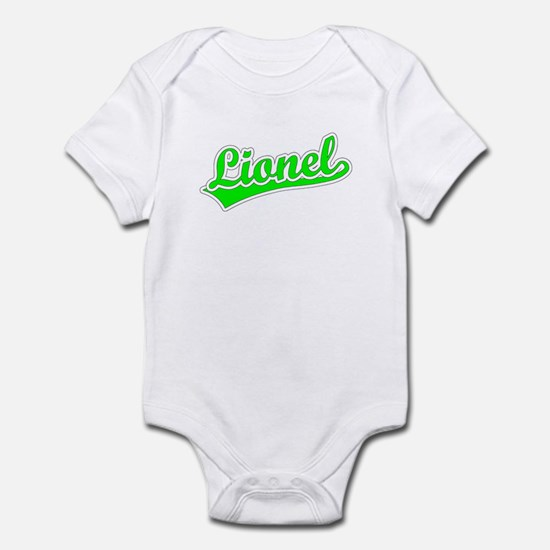 Retro Lionel (Green) Infant Bodysuit