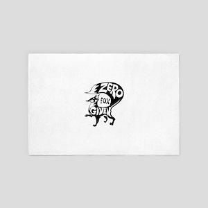Zero Fox Given 4' x 6' Rug
