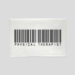Physical Therapist Barcode Rectangle Magnet