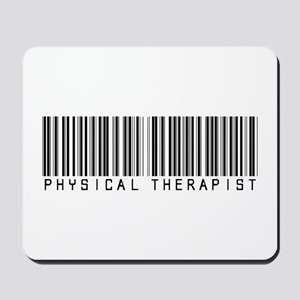 Physical Therapist Barcode Mousepad