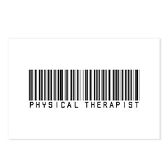 Physical Therapist Barcode Postcards (Package of 8
