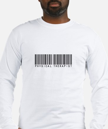 Physical Therapist Barcode Long Sleeve T-Shirt