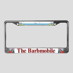 Barb-Mobile - License Plate Frame