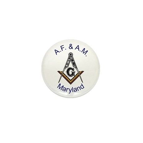 Maryland Square and Compass Mini Button (10 pack)