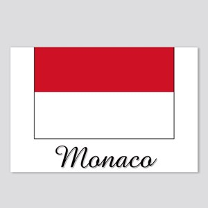 Monaco Flag Postcards (Package of 8)