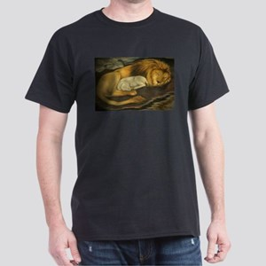 The Lion and the Lamb Dark T-Shirt