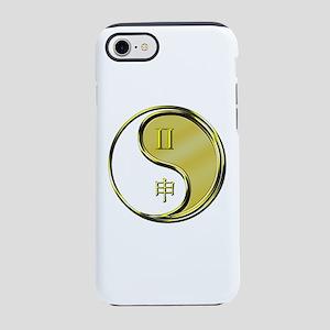 Gemini & Metal Monkey iPhone 8/7 Tough Case