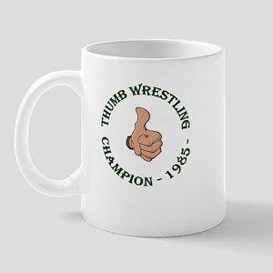 Thumb Wresting Champion Mug