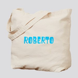 Roberto Faded (Blue) Tote Bag