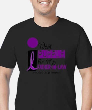 I Wear Purple For My Father-In-Law 9 PC T-Shirt