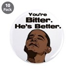 "Bitter - Better 3.5"" Button (10 pack)"