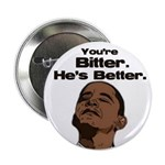 "Bitter - Better 2.25"" Button (10 pack)"